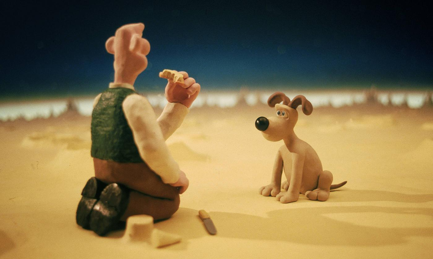 Image result for Wallace And Gromit - A Grand Day Out (1989)