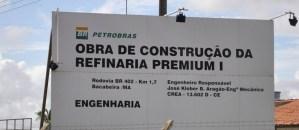 Aprova Frente Parlamentar da Refinaria Premium I.