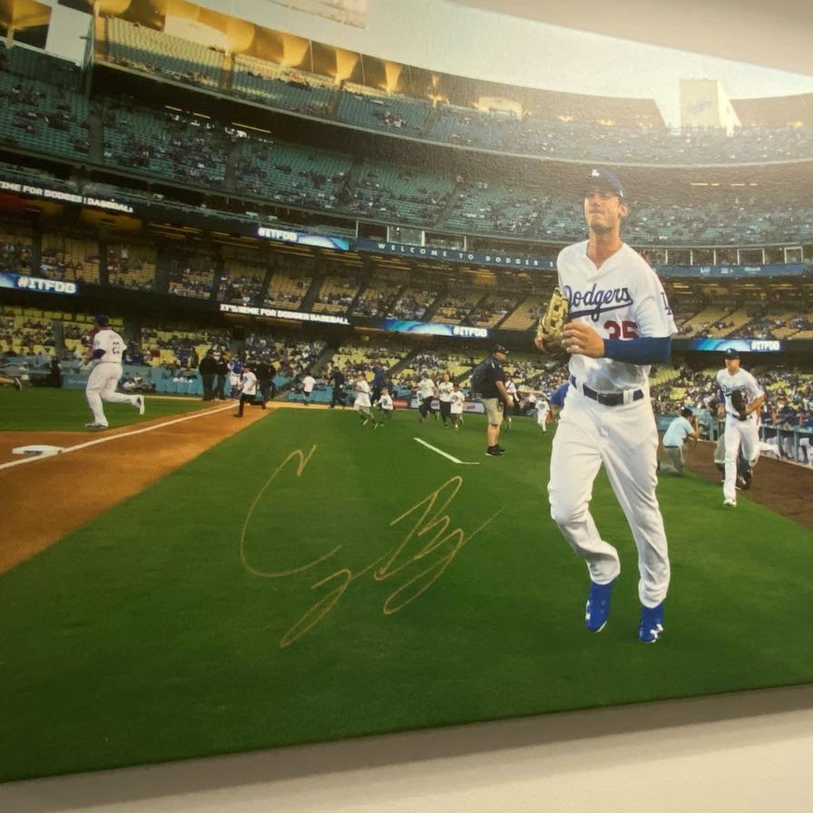 Signed LA Dodgers memorabilia