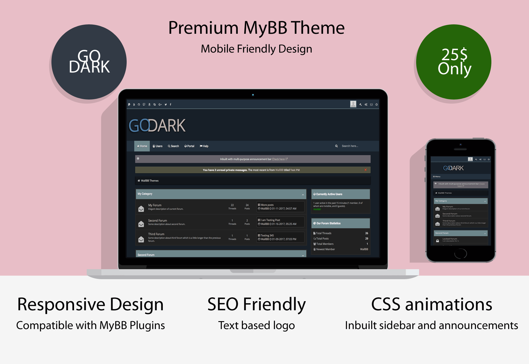 Best MyBB Themes - WallBB Designs