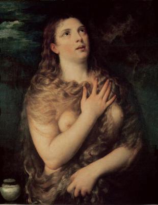 Maddalena Penitente - Tiziano 1533