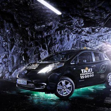 Taxi Stockholm kör på el