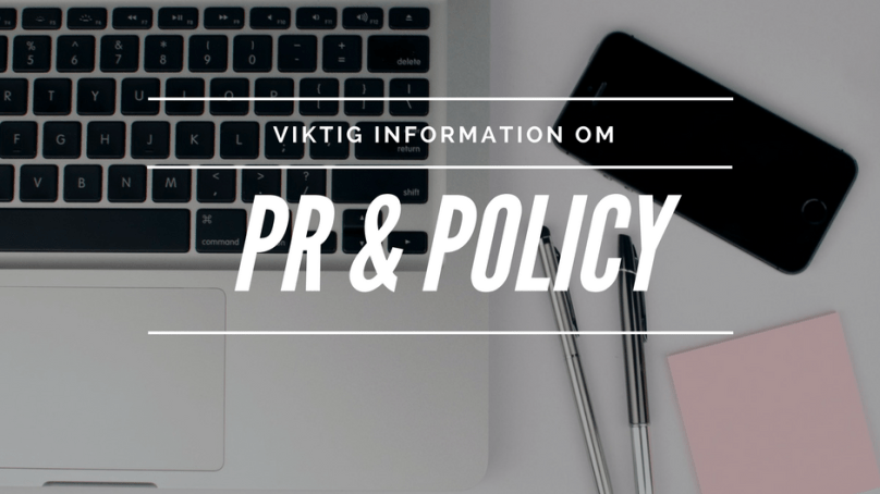 PR & Policy