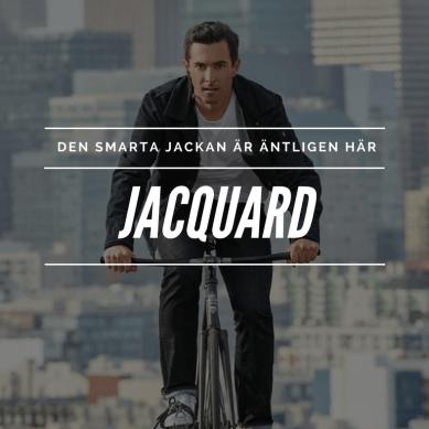 "Nu släpps Googles ""smarta"" jeansjacka JACQUARD"