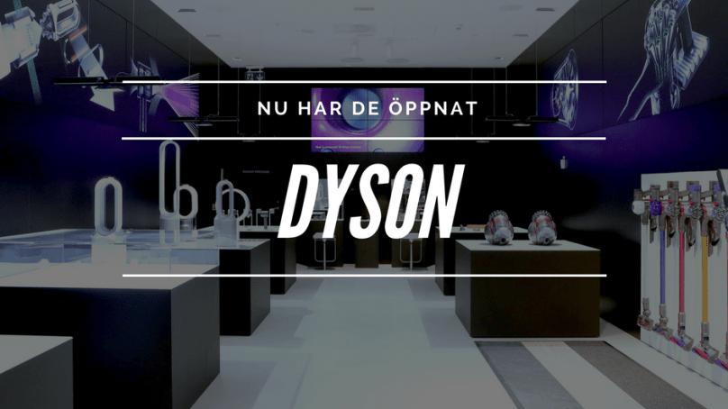 Nu öppnar Sveriges första Dyson Demo-butik