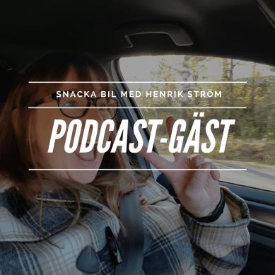 Jag snackar bil med Henrik Ström – Podcast