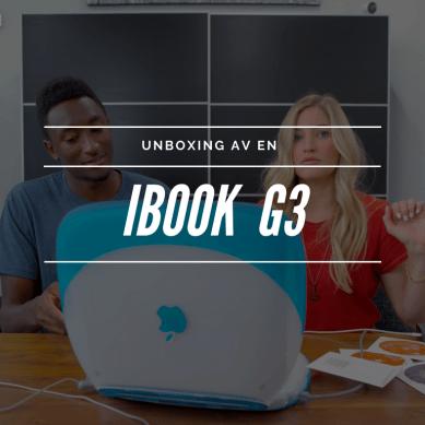 iJustine och MKBHD hittar en oöppnad iBook G3