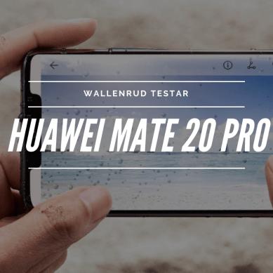 Huawei Mate 20 Pro – Kameravärstingen
