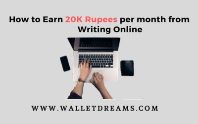 How to Earn 20K Rupees per month from Content Writing jobs