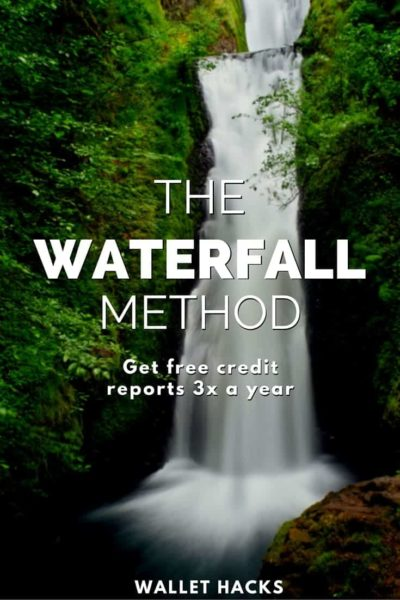Use the waterfall method to get your free credit reports 3 times a year, instead of just once.