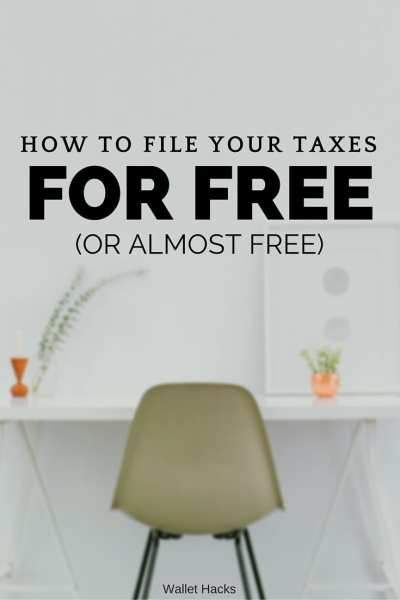 Filing your taxes can be scary but it doesn't have to be expensive. Check out some of the free and heavily discount options available to all tax filers regardless of situation.