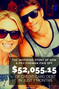 Read the inspiring story about how a professional fireman paid off $52,055.15 of credit card debt in 7 months and how you can too - a complete step-by-step guide, in his own words, of how he did it.
