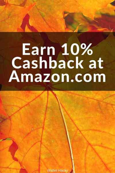 You can earn 10% cashback on your purchases at Amazon.com with this new credit card from a familiar company. 10% from Amazon and 2% everywhere else during the first year. Save on holiday shopping!