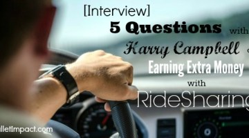 [Interview] 5 Questions With Harry Campbell On Earning Extra Money With Ridesharing