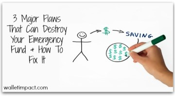 3 Major Flaws That Can Destroy Your Emergency Fund And How To Fix It