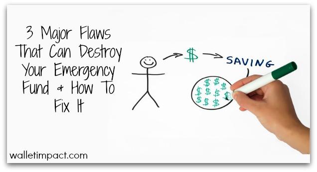 emergency fund flaws