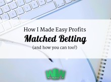 How I made Easy Profits MAtched betting and how you can too
