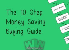 The 10 Step Money Saving Buying Guide