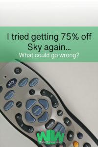 Sky Discount Again?