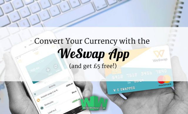 Free £5 from installing the WeSwapp App