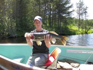 Lake Vermillion trophy walleye.