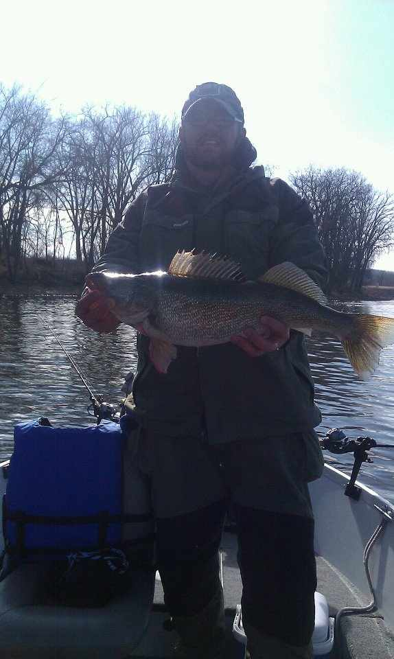Early season walleye at Red Wing