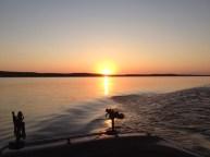 Lake Oahe Sunset