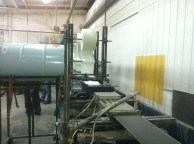 Fiberglass production process.