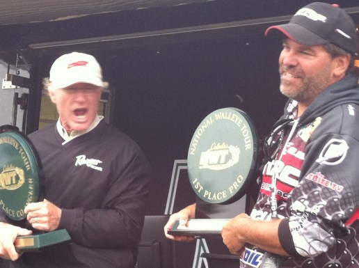 Marty and Keith with their first place co and pro trophies!!