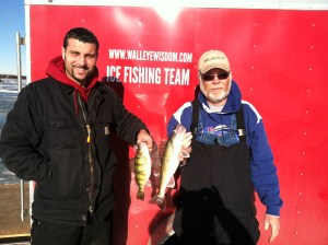 Jesse and Tracy with their Lake Whitewood catch!