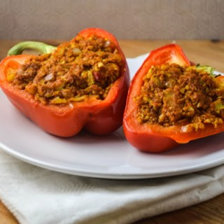 Curried Stuffed Peppers