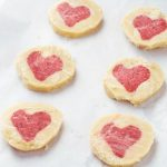 Rose Heart Cookies {Vegan / Gluten-free}