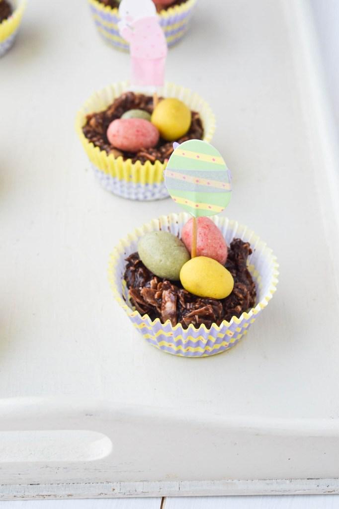 Chocolate Easter Egg Nests {Raw, Vegan & Gluten-free}