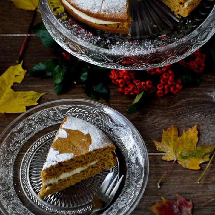 Vegan Butternut Squash & Orange Cake (Wheat-free)