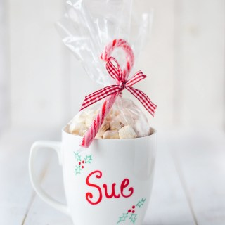 DIY Vegan Hot Cocoa Mix & Personalized Mug