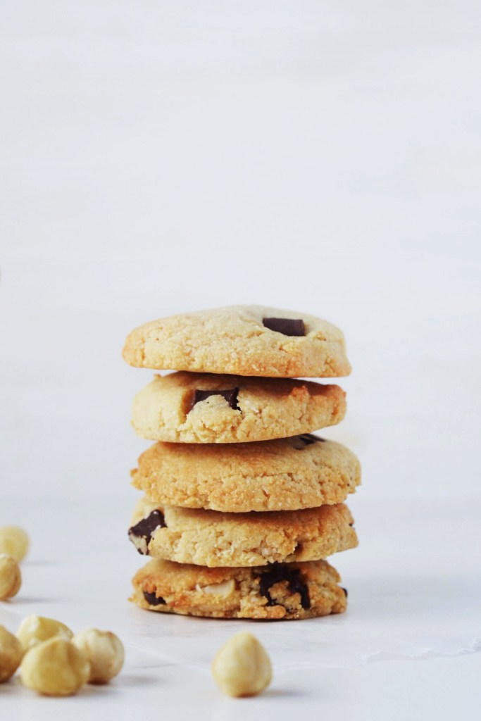 Hazelnut Chocolate Chip Cookies (Paleo & Vegan)