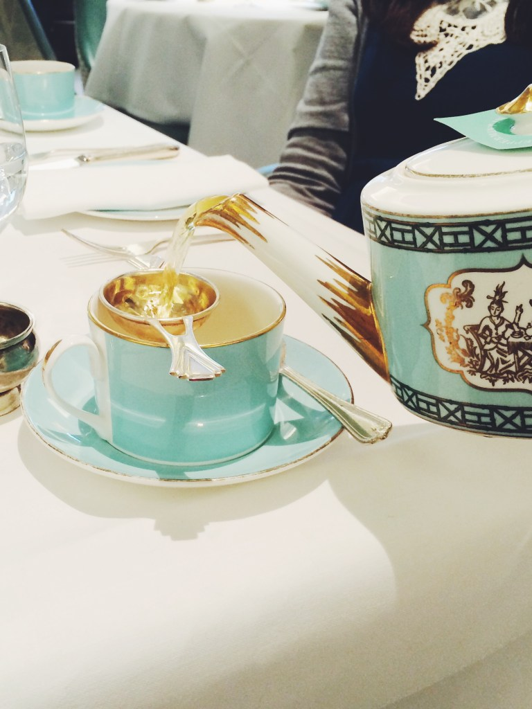Vegan Afternoon Tea at Fortnum and Mason