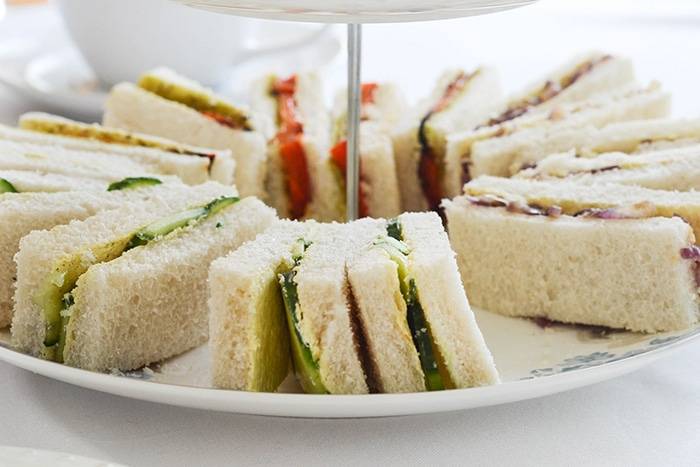Vegan Tea Finger Sandwiches | WallflowerGirl.co.uk #vegan