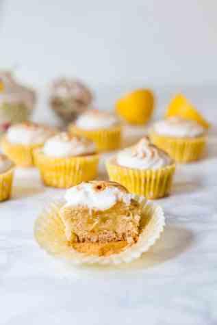 Vegan Lemon Meringue Cupcakes