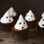 Ghost Cupcakes! (Vegan)