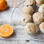 Vegan Orange & Cranberry Scones
