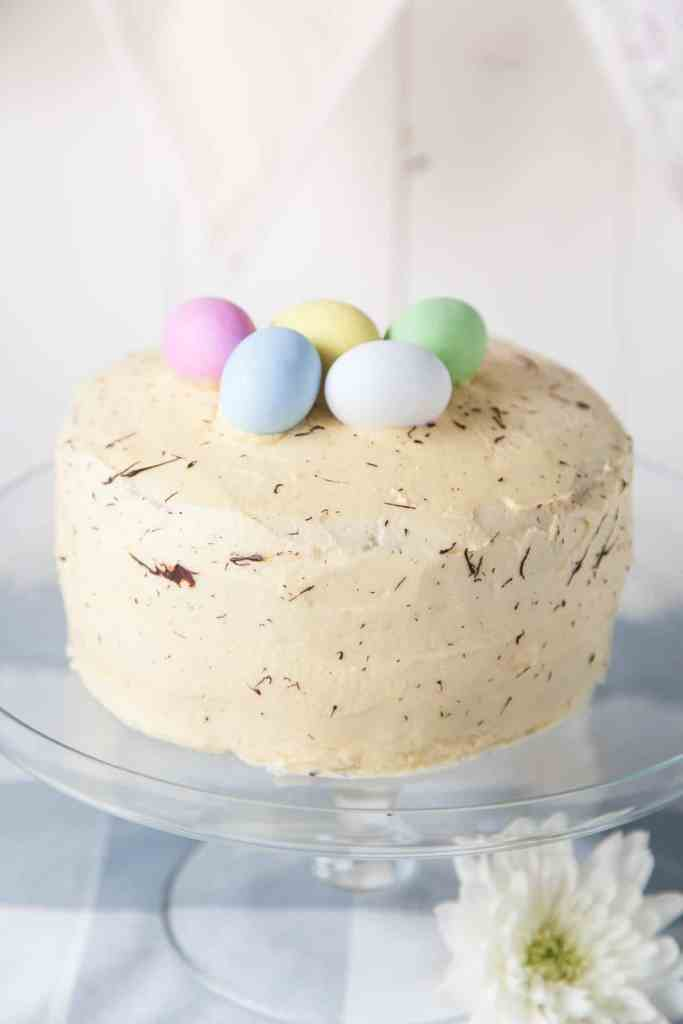 Easter Lemon Sponge Cake