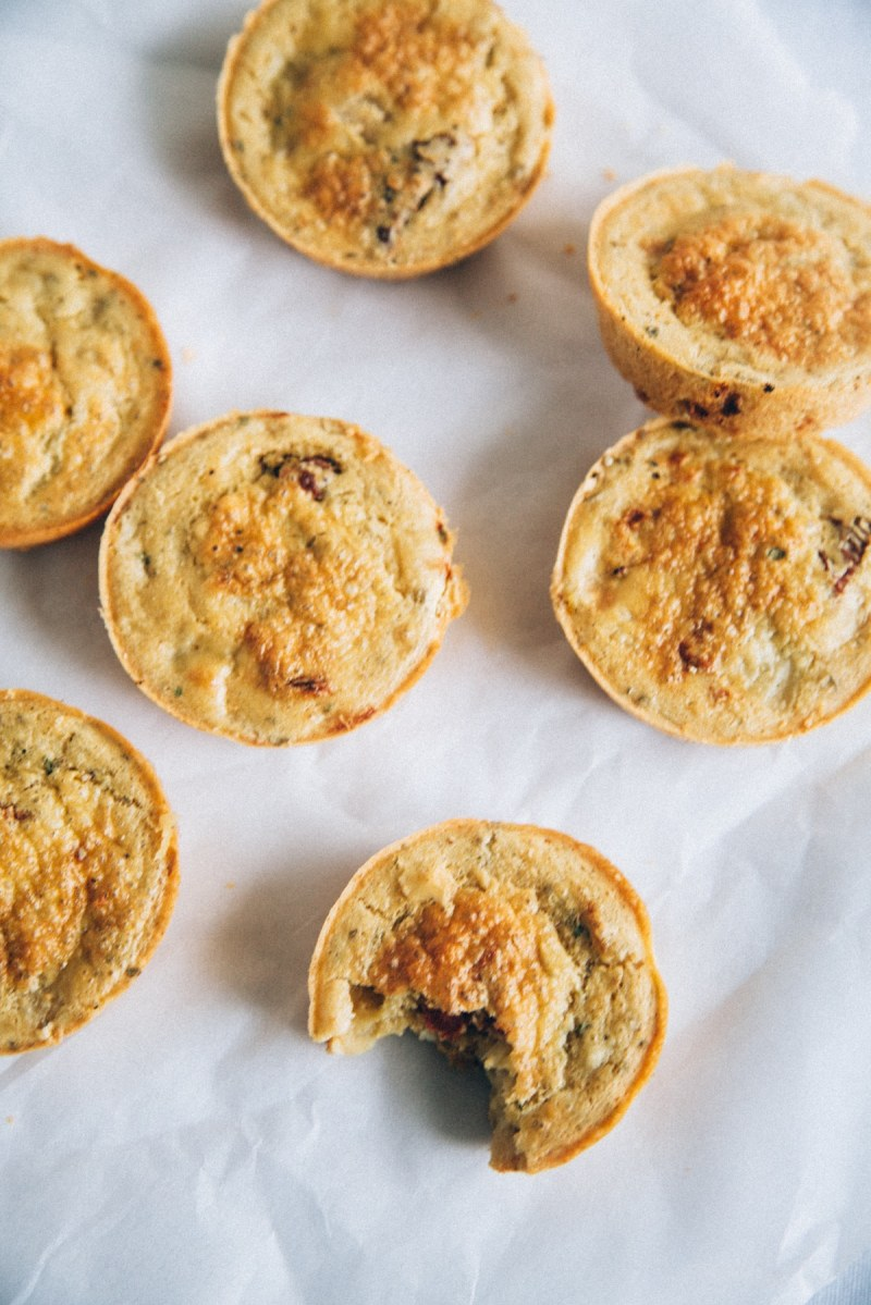 35-Calorie Mini Vegan Quiches