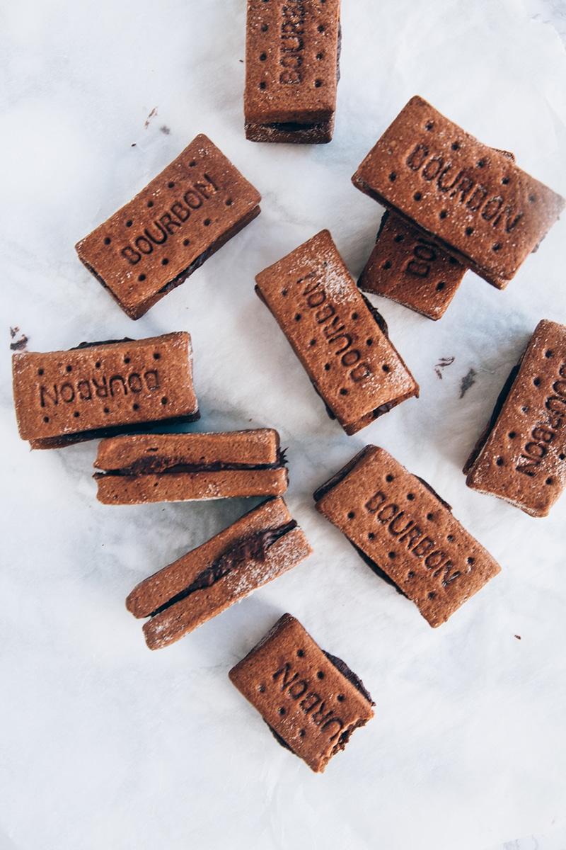 Vegan Bourbon Biscuits