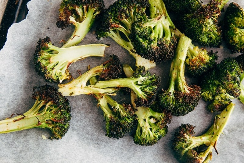Coriander Roasted Broccoli