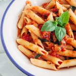 Easy & Delicious Tomato & Basil Penne