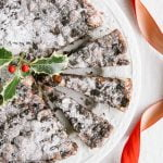 Vegan Panforte – Italian Chocolate Christmas Cake