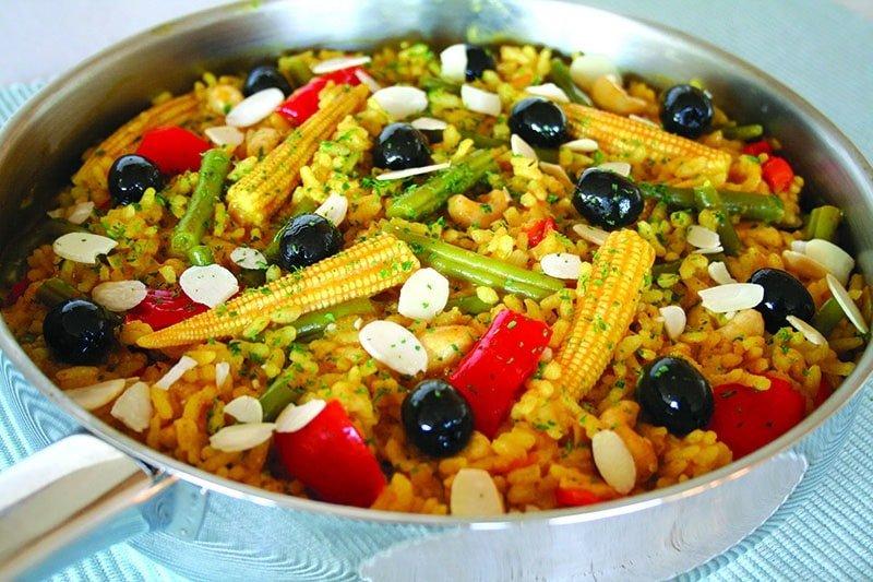 Spanish Veggie Paella