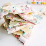 Love Hearts Chocolate Unicorn Bark