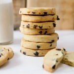Vegan Chocolate Chip Shortbread